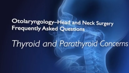 Thyroid/Parathyroid Conditions | Q&A