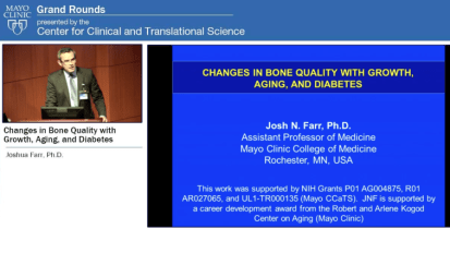 Grand Rounds: Changes in Bone Quality With Growth, Aging and Diabetes