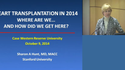 Heart Transplantation in 2014: Where Are We... And How Did We Get Here?