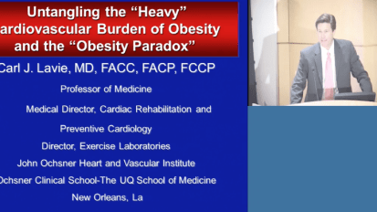 "Untangling the ""Heavy"" Cardiovascular Burden of Obesity and the ""Obesity Paradox"""