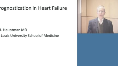 Prognostication in Heart Failure