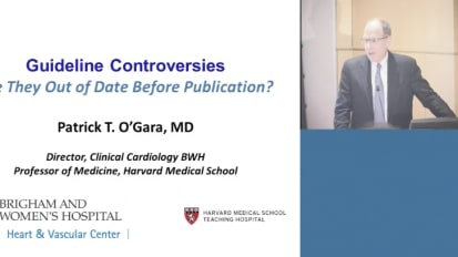 Guideline Controversies: Are They Out of Date Before Publication?