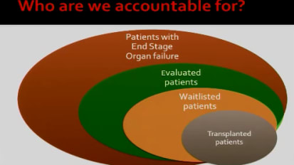 Assessment and Accountability: The Challenges for Transplant Professionals