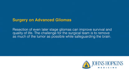 Surgery on Advanced Gliomas