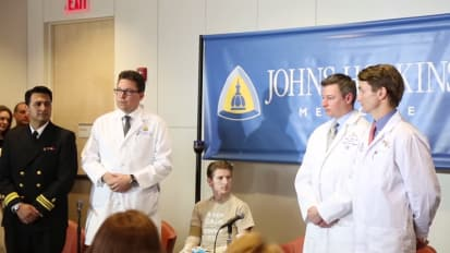 Double Arm Transplant Press Conference