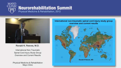 International Non-Traumatic Spinal Cord Injury Study Group Overview & Current Results