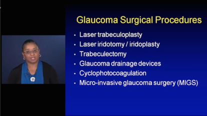 Surgical Management of Glaucoma