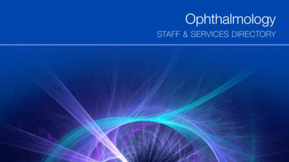 Ophthalmology Staff & Services Directory