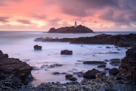 Godrevy Lighthouse by Mark bauer