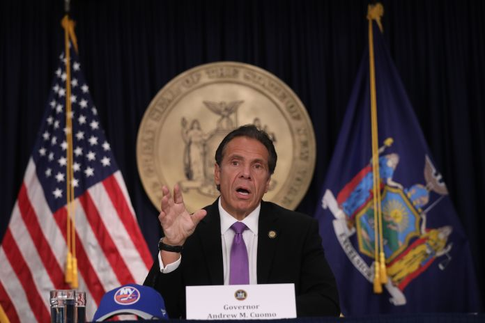 Gov. Cuomo outlines plan to accelerate return of theater and the arts | Broadway News