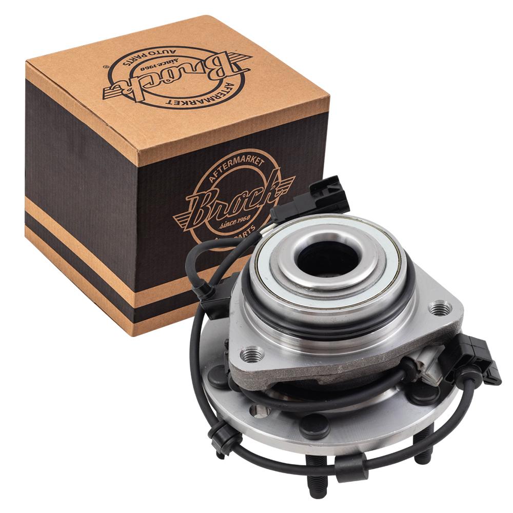 brock supply 02 09 cv trailblazer hub bearing assy front l r 02 09