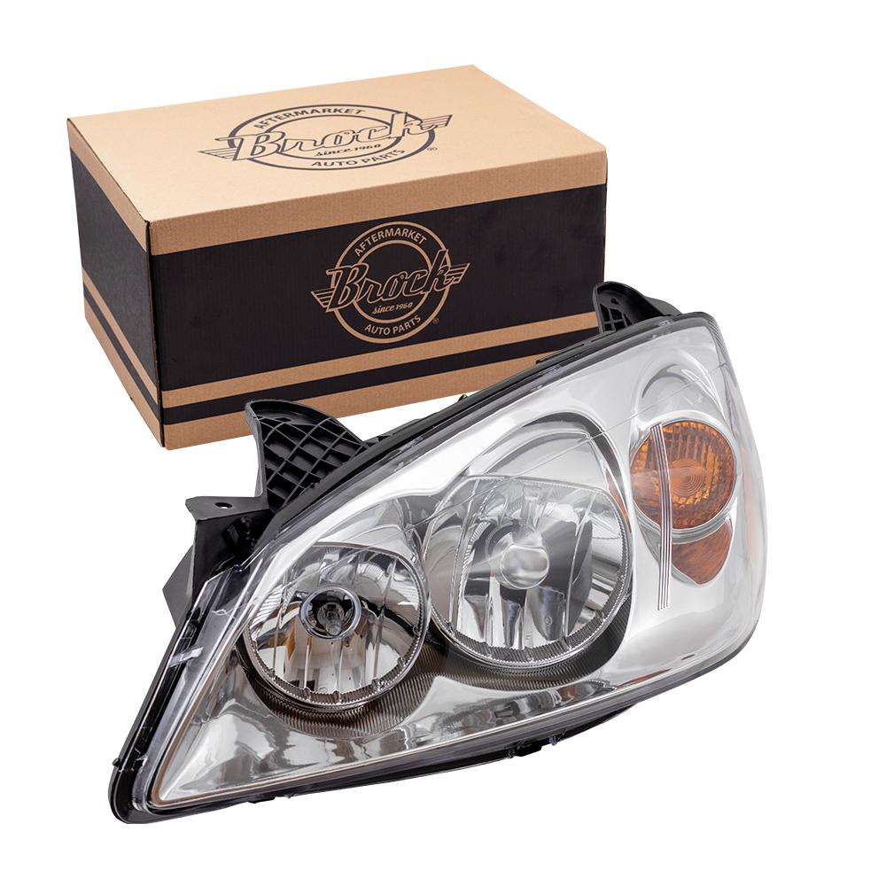05-10 Pontiac G6 New Drivers Headlight Headlamp Lens Housing Assembly DOT  ...