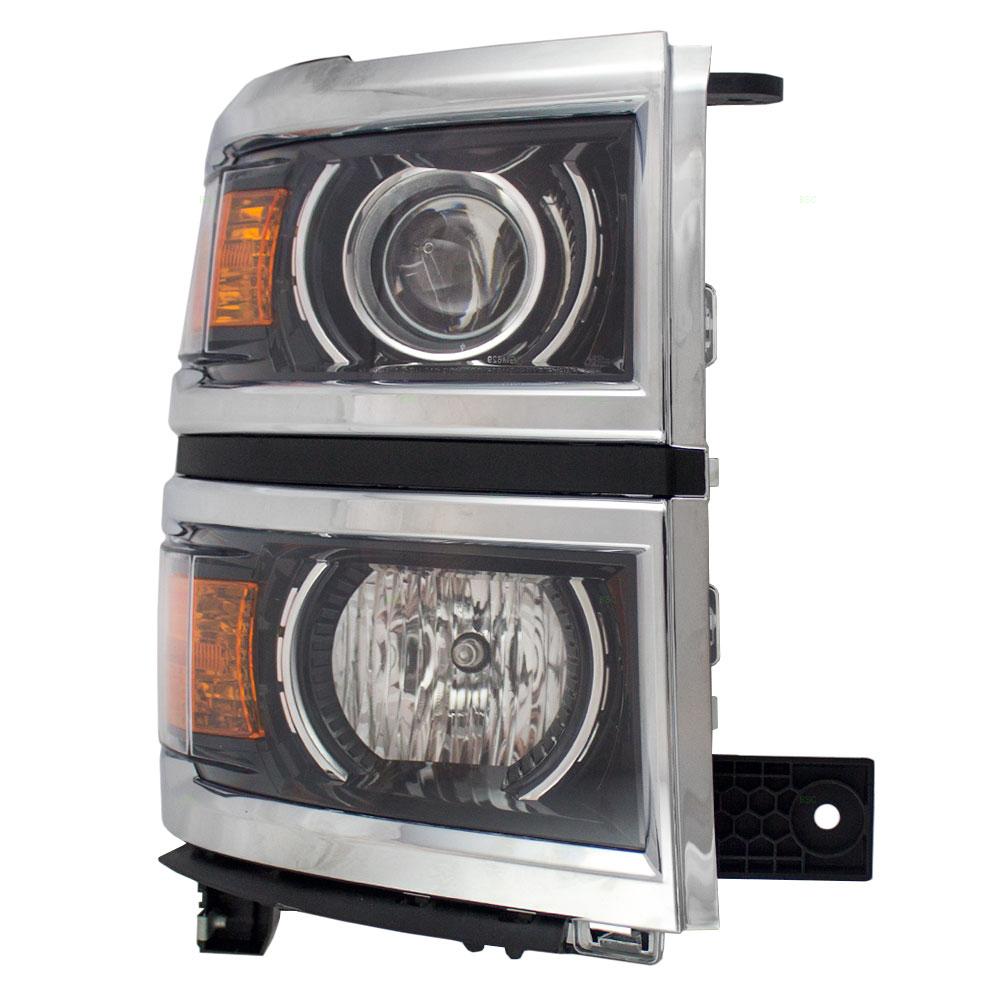 Brock Supply Nla14 15 Cv Silverado 1500 Halogen Headlamp Assy 2015 Chevy Fog Lights Picture Of