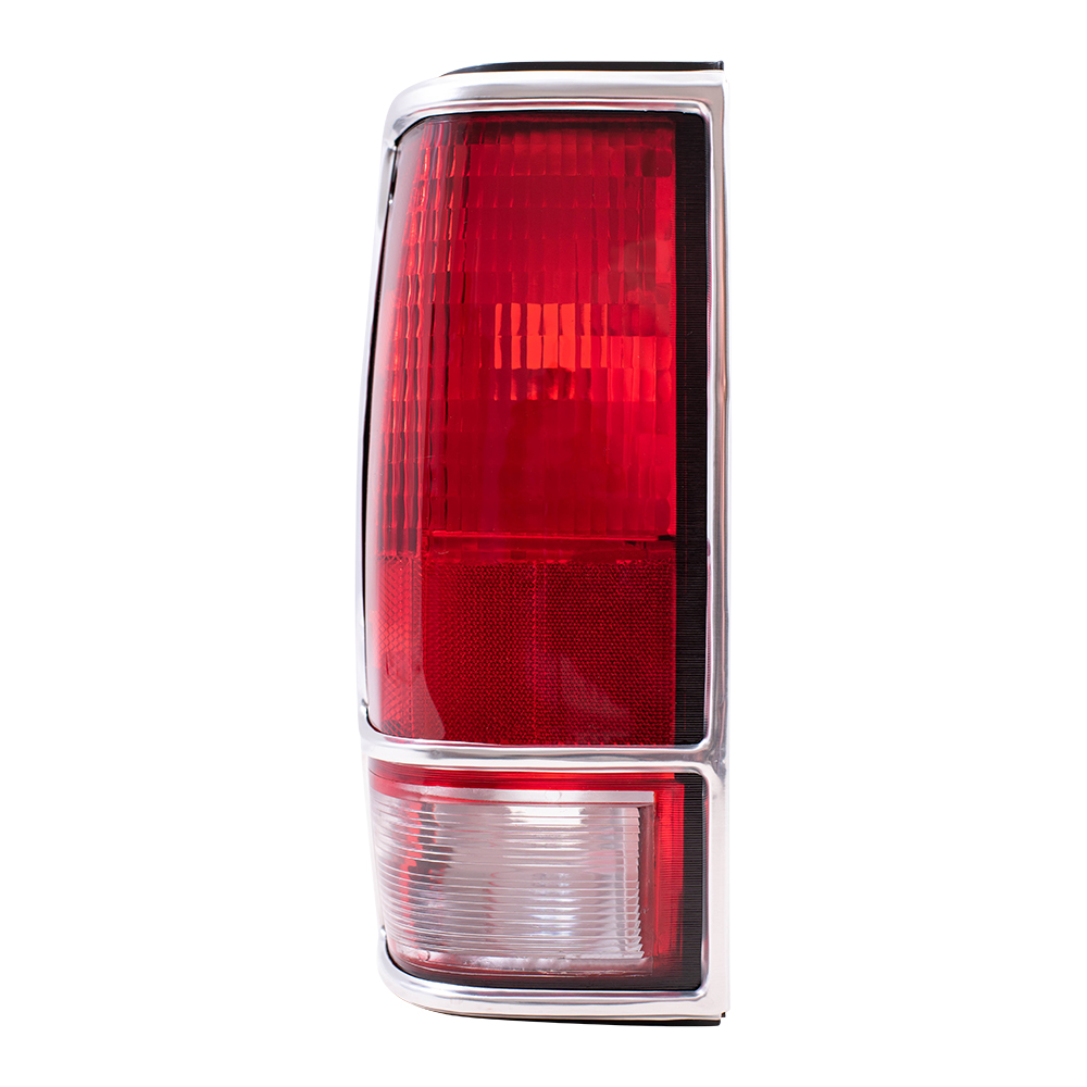 Brock Supply 82 93 Cv S10 Pickup Tail Lamp Unit W Chrome Bezel Lh Chevy Light Wiring Harness Cap Picture Of