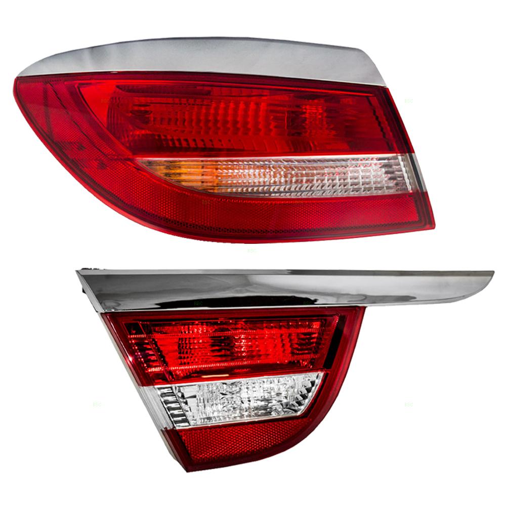 Buick Verano 2016: 12-17 Buick Verano 2 Pc Drivers Set Of Taillights