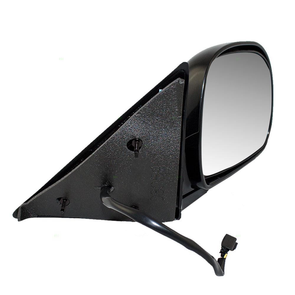Brock Supply 98 Cv Blazer Power Mirror Smooth Black Foldaway W O Chevy S10 Picture Of Heat Rh