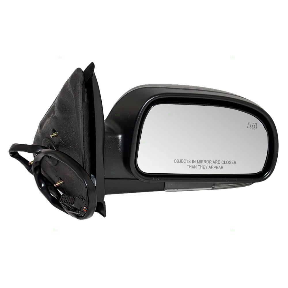 brock supply 04 07 bk rainier power mirror smooth black w heat rh brocksupply com