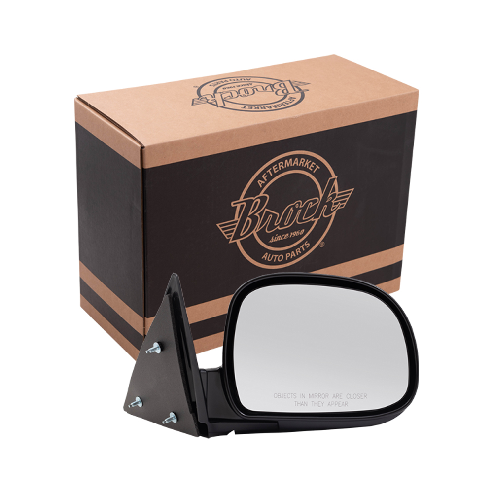 Brock Supply 95 98 Cv Blazer Manual Mirror Paint To Match Black Rh Chevy S10 Picture Of 94