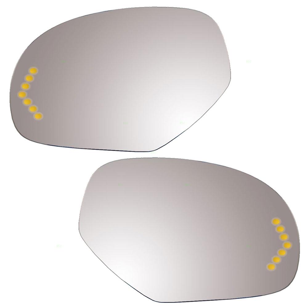 NEW RIGHT SIDE POWER MIRROR GLASS FITS 2007-2008 GMC SIERRA 2500 HD 25776084