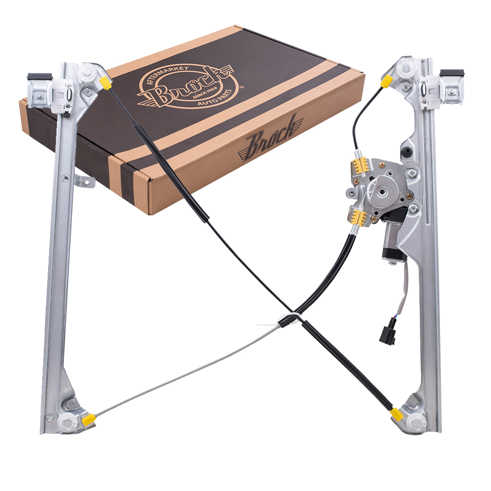 Brock supply 99 06 gm pickup power window regulator w for 2001 chevy silverado window motor