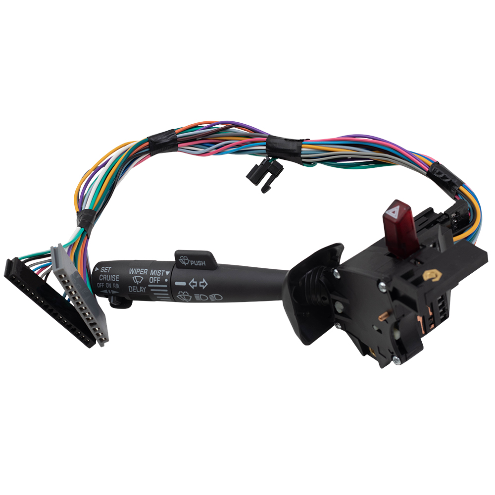 BROCK Turn Signal Wiper Switch Cruise Hazard Warning Lever Replacement for Chevy Cadillac GMC Oldsmobile SUV Pickup Truck Van 26100985