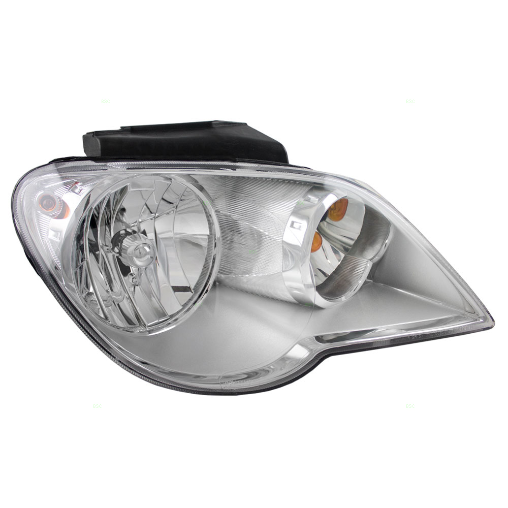 07 08 chrysler pacifica passengers halogen headlight. Black Bedroom Furniture Sets. Home Design Ideas