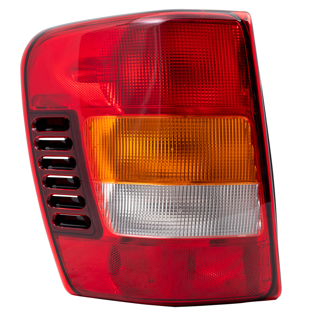 Taillights Tail Lamps with Circuit Boards Driver and Passenger Replacements for 02-04 Jeep Grand Cherokee SUV 55155138AJ 55155138AJ