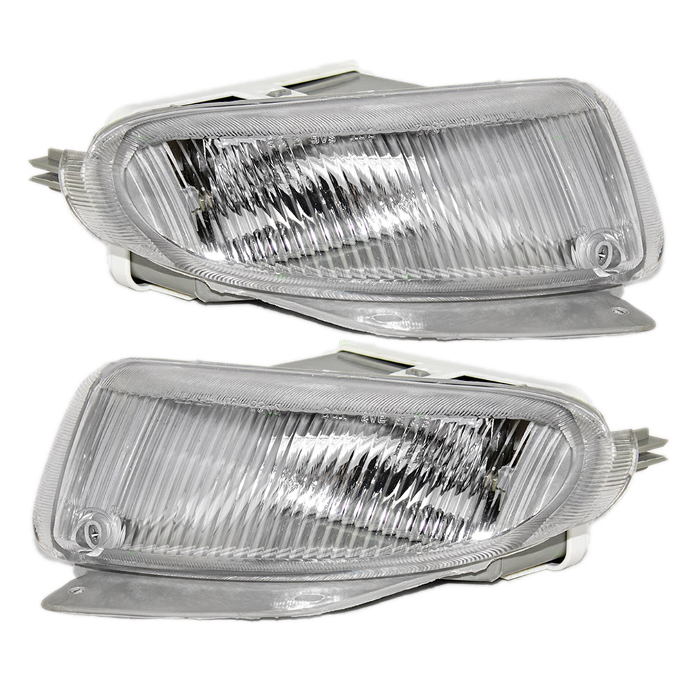 96 98 dodge caravan grand caravan plymouth voyager set of fog lights rh  everydayautoparts com