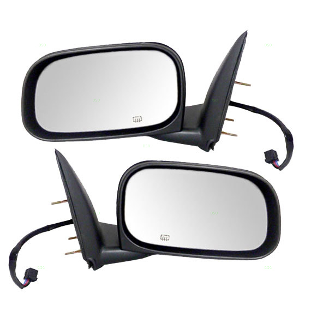 New Pair Set 6x9 Power Side View Mirrors for Dodge /& Ram Dakota Raider Pickup