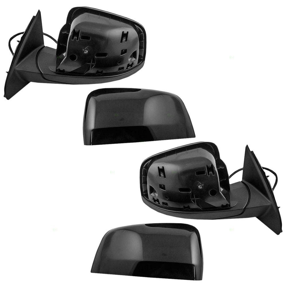 11 17 jeep grand cherokee set of side view power mirrors. Black Bedroom Furniture Sets. Home Design Ideas