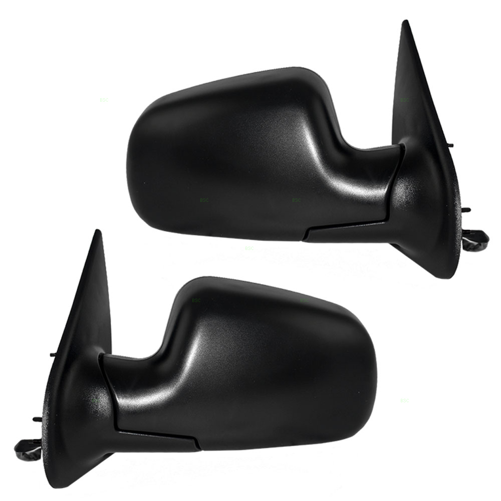99 04 jeep grand cherokee set of side view power mirrors. Black Bedroom Furniture Sets. Home Design Ideas