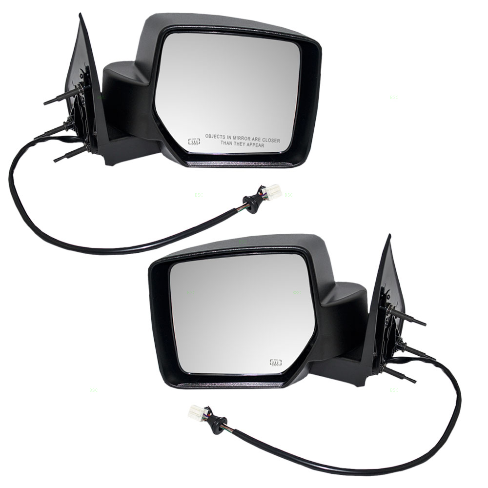 New CH1320280 Driver Side Mirror for Jeep Liberty 2008-2012