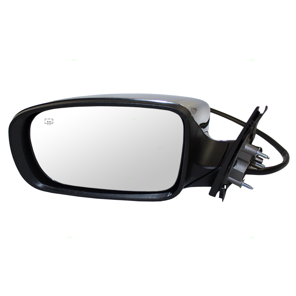 11 18 Chrysler 300 Drivers Side View Power Mirror Heated Memory W