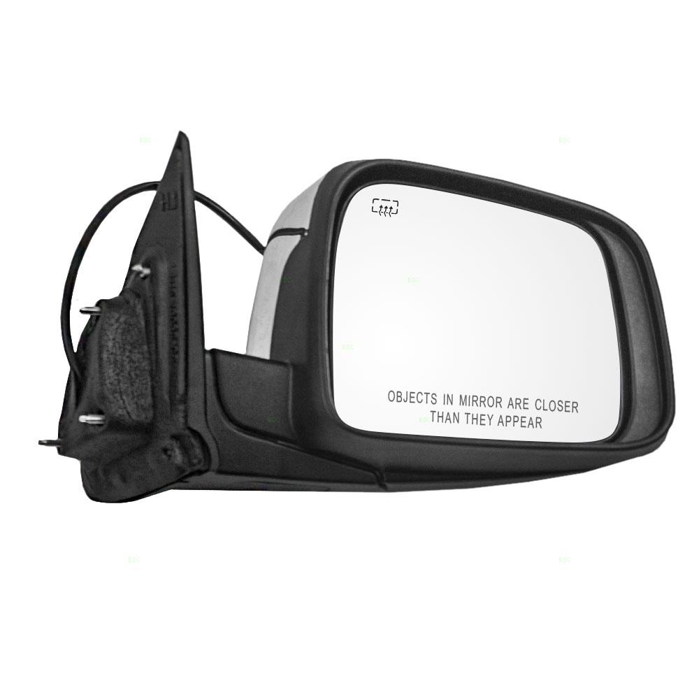 11 18 Dodge Durango Passengers Side View Power Mirror Heated W Chrome Cover Everydayautoparts Com