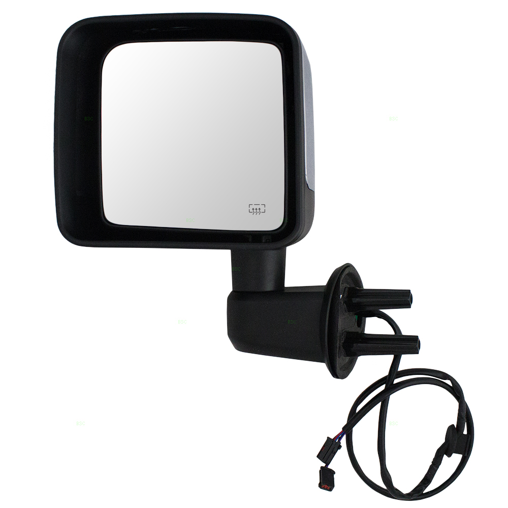 15 16 17 jeep wrangler drivers side view power mirror. Black Bedroom Furniture Sets. Home Design Ideas