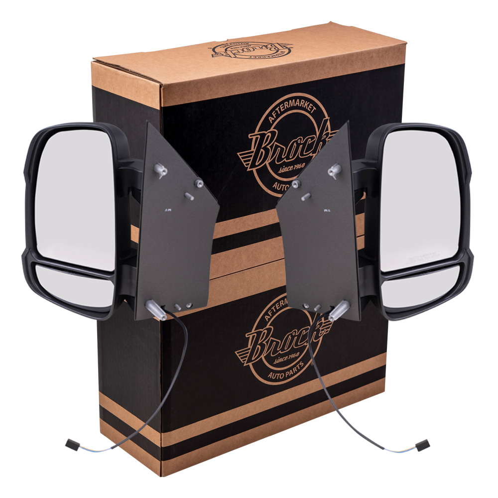 14 17 ram promaster van set of side view manual mirrors w signal rh everydayautoparts com Mirror for Hiking Signal Mirrors Survival