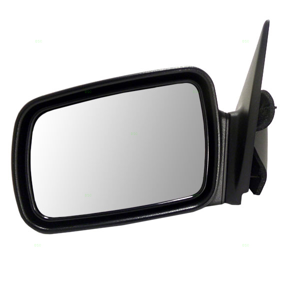 93 95 jeep grand cherokee drivers side view manual mirror. Black Bedroom Furniture Sets. Home Design Ideas