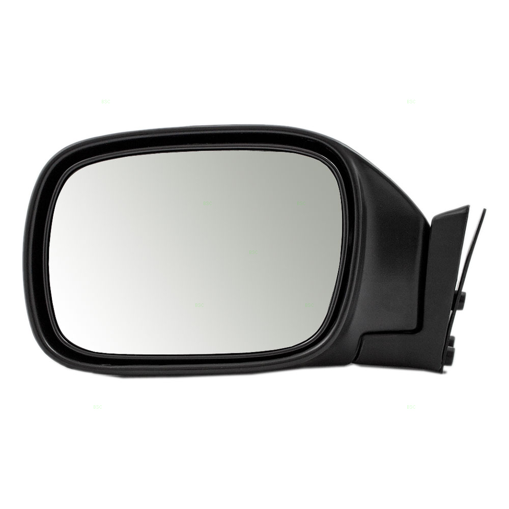 97 01 jeep cherokee suv drivers side view manual mirror. Black Bedroom Furniture Sets. Home Design Ideas