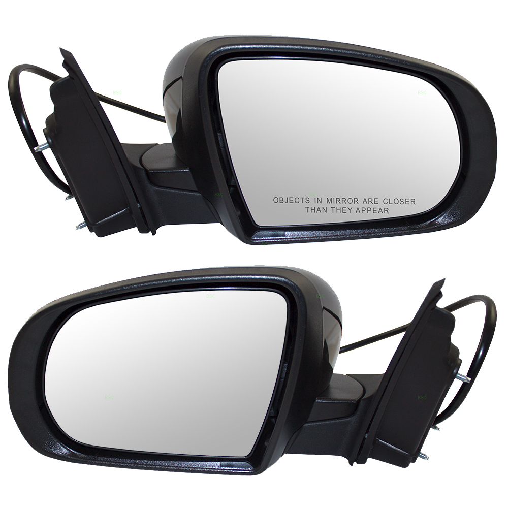 14 15 16 jeep cherokee suv set of side view power mirrors. Black Bedroom Furniture Sets. Home Design Ideas
