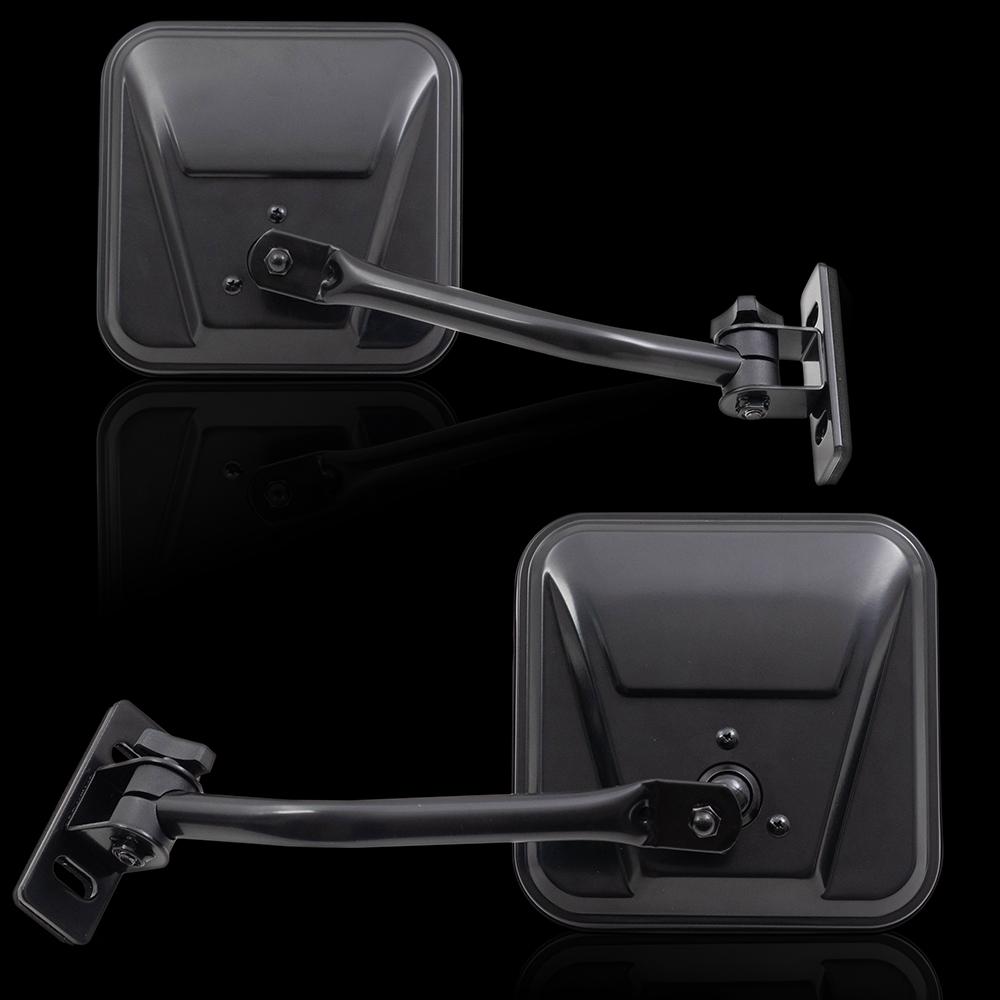 Jeep CJ7 CJ8 Wrangler Set of Quick Release Relocation Mirrors Off ...