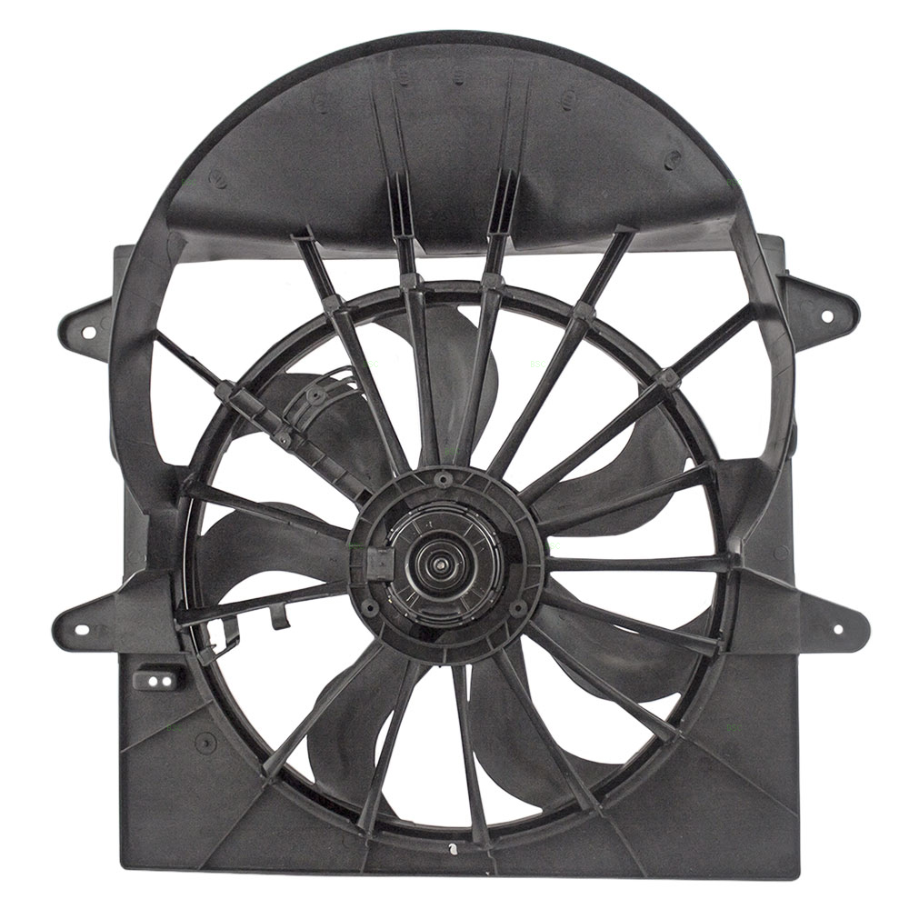 Brock Supply 06 08 Jp Commander Exc 57l Radiator Fan Assy W 2 Pin Electric Installation Page 4 North American Grand Cherokee Picture Of