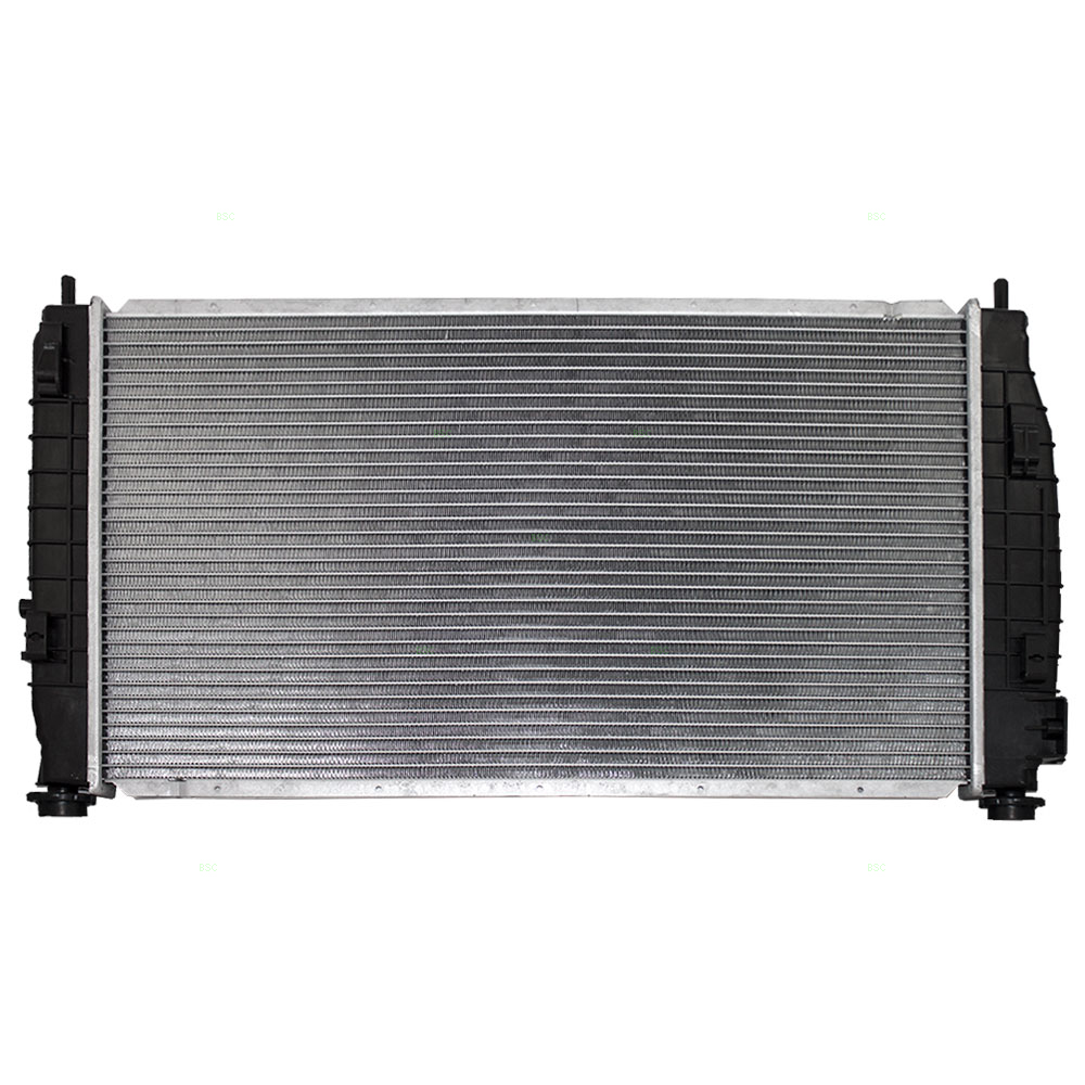 Picture Of 99 04 CR 300M RADIATOR ASSY W ENGINE OIL COOLER 98