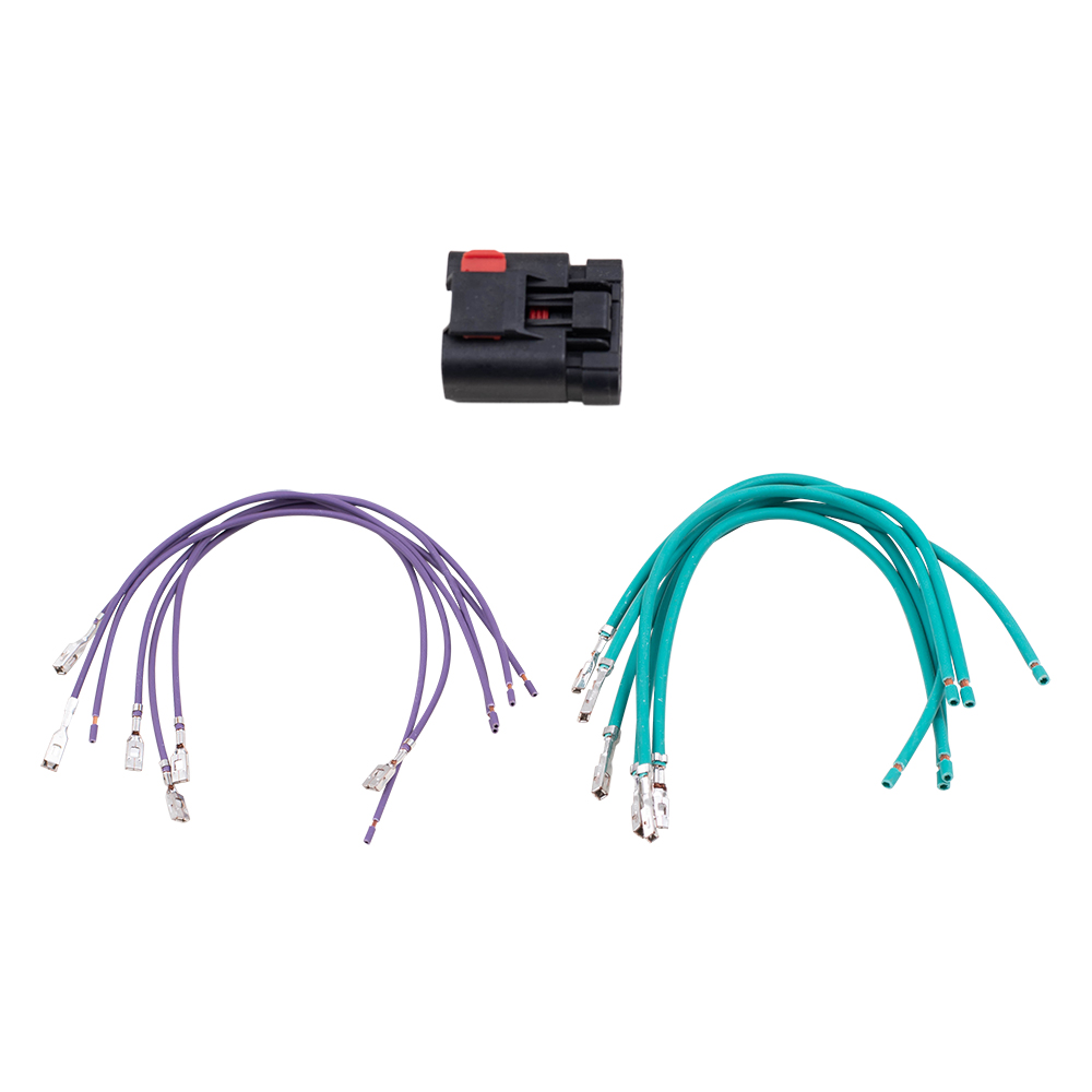 Brock Supply 97 14 Cr Various Models Harness Repair Kit For Tail Chrysler Wiring Connectors Picture Of Lamp Window