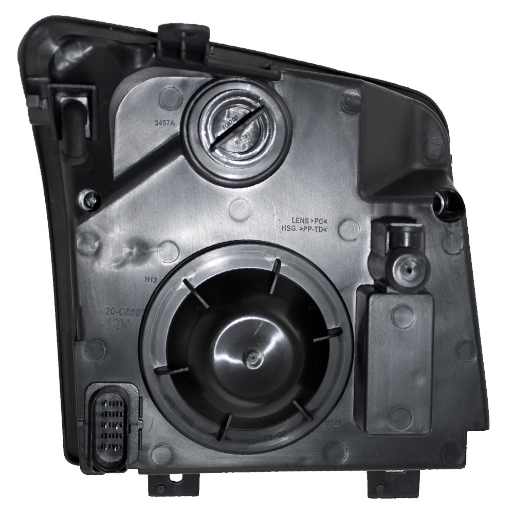 picture of 10 13 ford transit connect new drivers headlight headlamp lens housing assembly dot