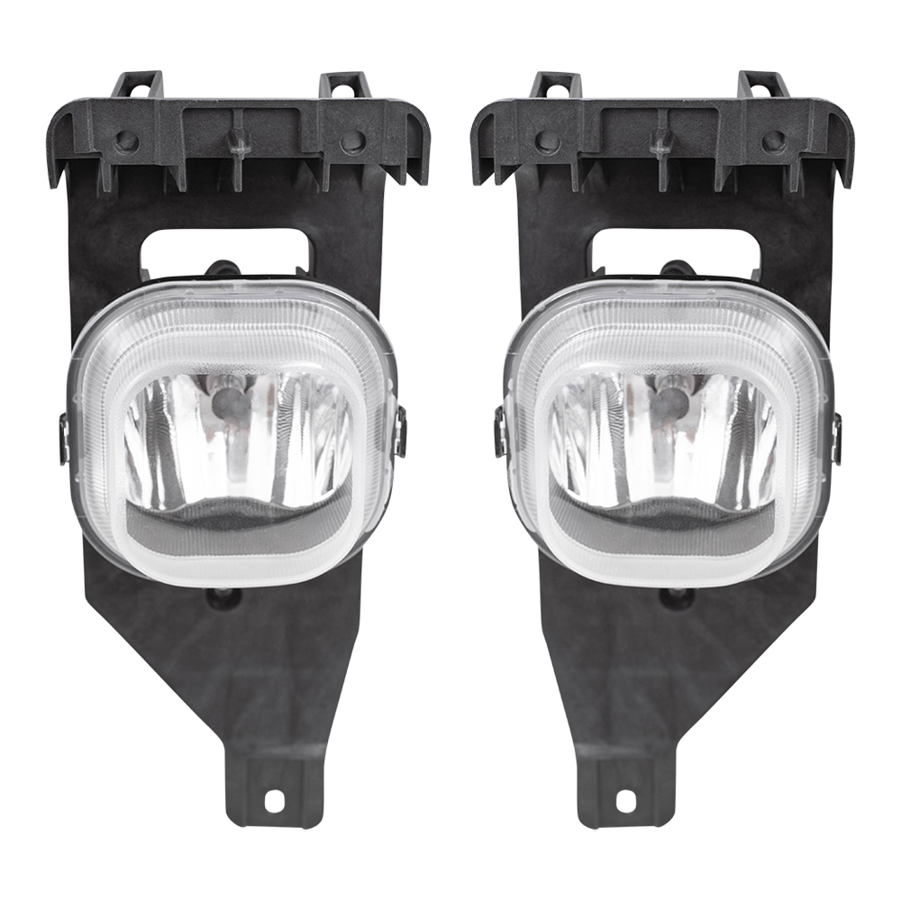 Set Black Fog Lamp Spot Light Fit Chevrolet Colorado: Ford Super Duty Excursion Pickup Truck SUV Set Of Fog