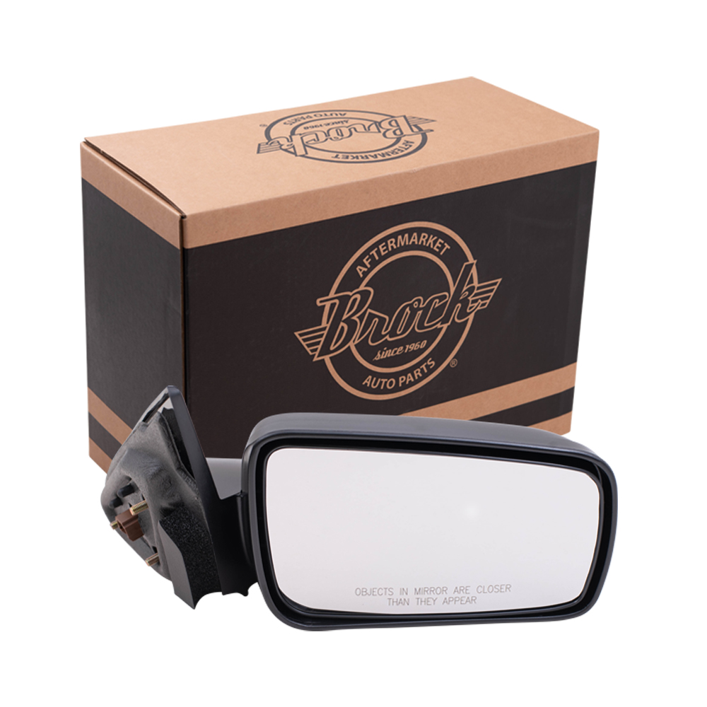 Mirror Glass For 05-09 Ford Mustang Passenger Side Replacement