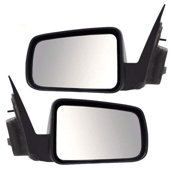 08 11 Ford Focus Usa Set Of Side View Power Mirrors With Texured