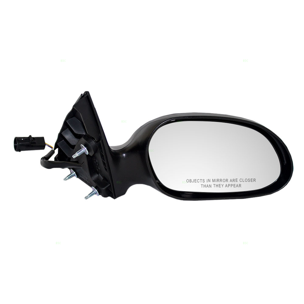 Picture of mercury sable ford taurus new passengers smooth power side view mirror glass housing w