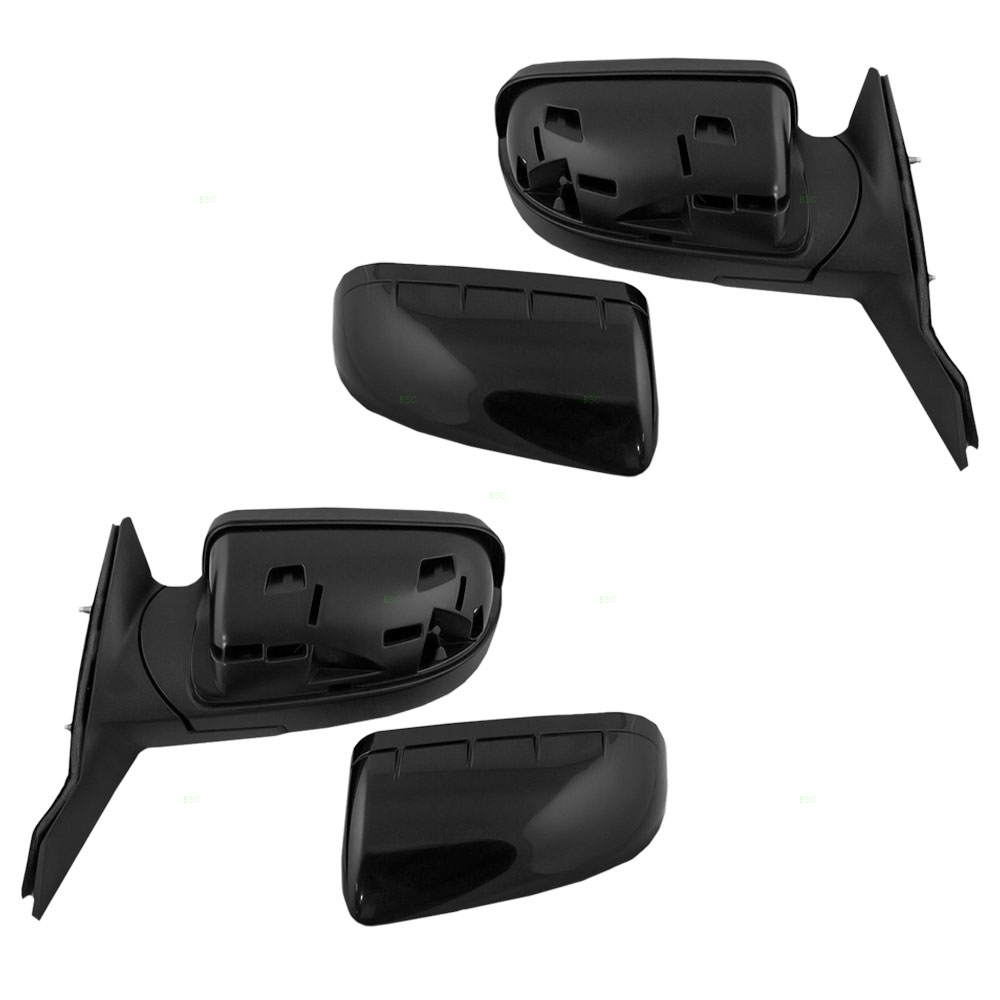 picture of 08 09 ford taurus new pair set power side view mirror glass housing