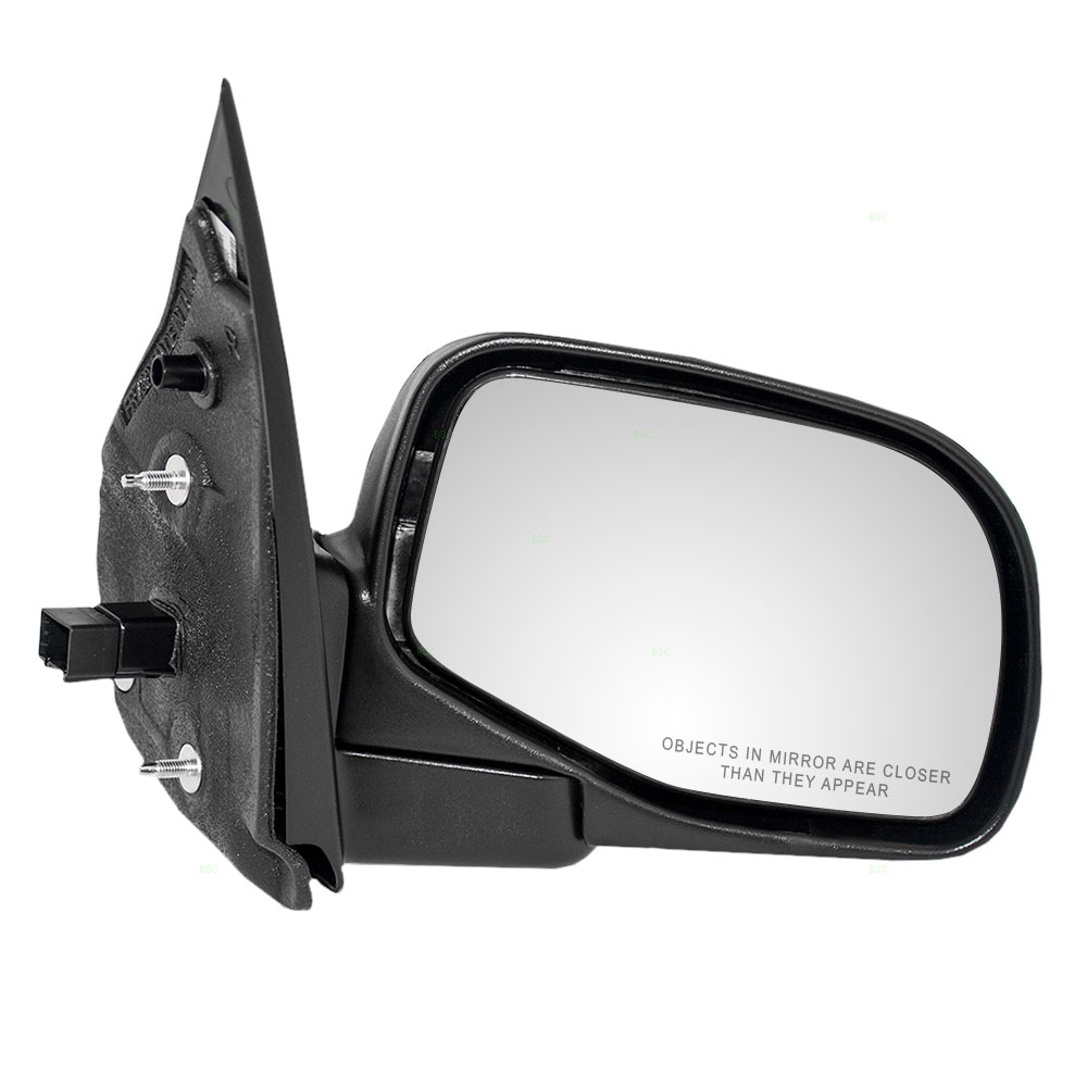 Driver and Passenger Power Side View Mirrors Textured Replacement for Ford Mercury SUV 1L2Z 17683 AAA 1L2Z 17682 AAA